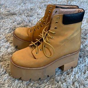 Jeffrey Campbell Wheat Nirvana Boots